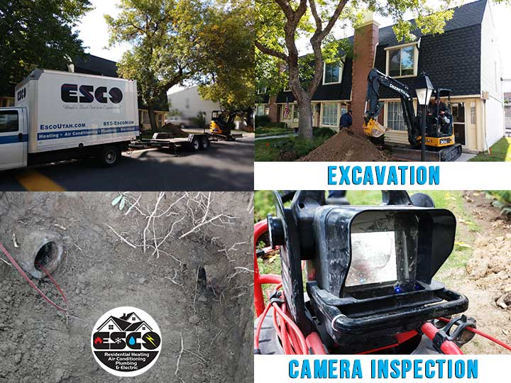 ESCO Sewer Line Excavation and Repair
