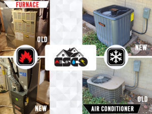 New Furnace and ac installation example